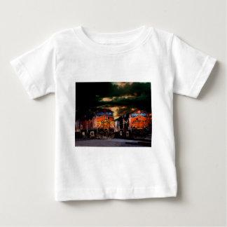 Powerfull locomotives ready to haul baby T-Shirt