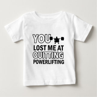 Powerlifting designs baby T-Shirt