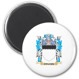 Powers Coat of Arms - Family Crest Magnets