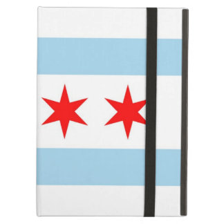 Powis Ipad Case with Chicago City Flag, USA