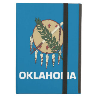 Powis Ipad Case with Oklahoma State Flag, USA