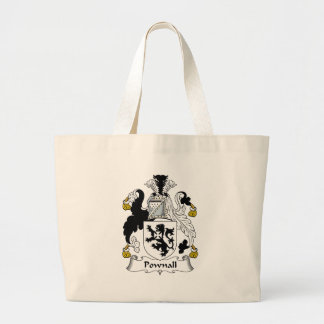 Pownall Family Crest Canvas Bags