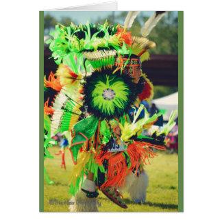 powwow dancer card