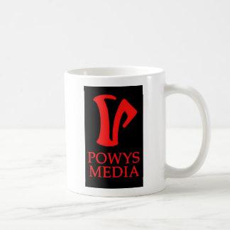 Powys Media Mug (2 logo)