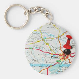 Poznan, Poland Keychain