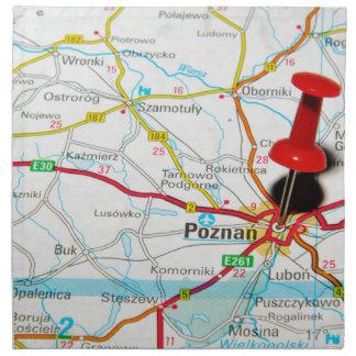 Poznan, Poland Napkin