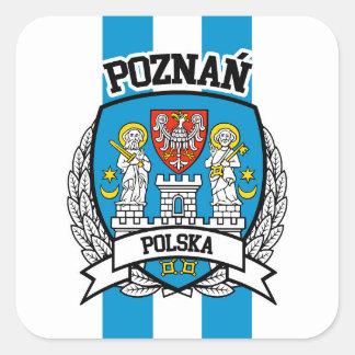 Poznań Square Sticker
