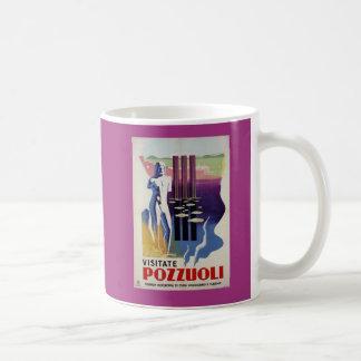 Pozzuoli ancient Greek Roman city Italy travel ad Coffee Mug