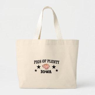 pp iowa large tote bag
