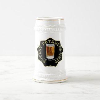 PPU (Potent Potables Unit) (black) 18 Oz Beer Stein