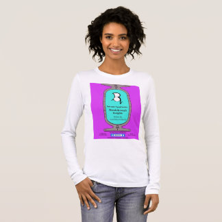 """PQ"" ""Savant Syndrome Breakthrough Insights Long Sleeve T-Shirt"