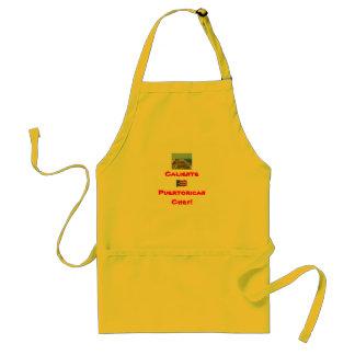 pr, prflag, CalientePuertorican Chef! Standard Apron