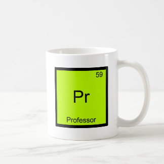 Pr - Professor Funny Chemistry Element Symbol Tee Coffee Mug