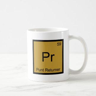 Pr - Punt Returner Chemistry Element Symbol Tee Mugs
