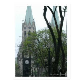 Praça da Sé Postcard - Customized