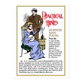 Practical Hints Postcard