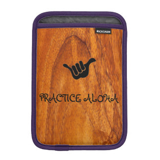 Practice Aloha iPad iPad Mini Sleeve