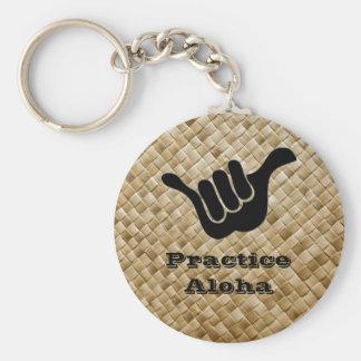 Practice Aloha Keychain