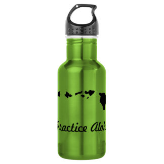 Practice Aloha Water Bottle