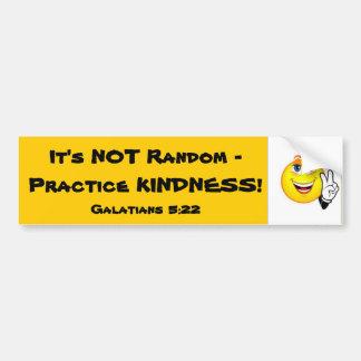 Practice Kindness Bumper Sticker
