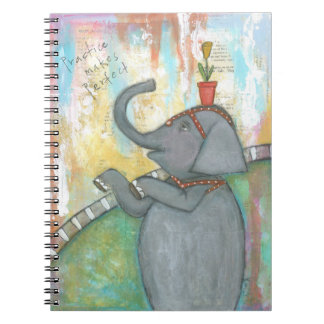 Practice Makes Perfect Notebook