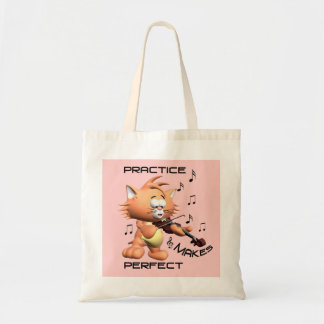 PRACTICE MAKES PERFECT TOTE BAG