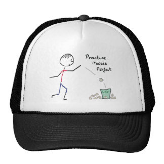 Practice Makes Perfect Trucker Hat