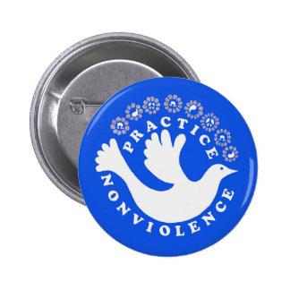 Practice Nonviolence 2 Inch Round Button