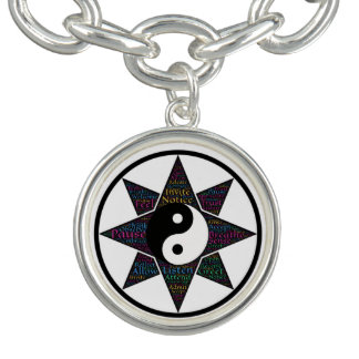 Practice Radical Acceptance Charm Bracelets