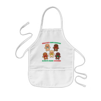 Practice Safe Baking! Kids Apron