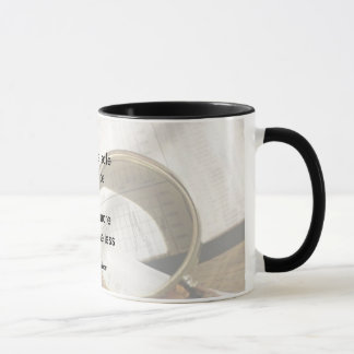 Practice safe finance mug