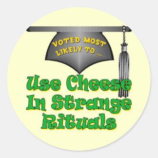 Practice Strange Rituals Classic Round Sticker
