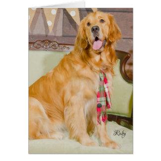 Prada's Bunch Christmas card - Ruby