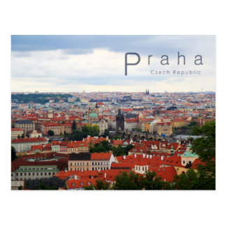 Prague 001, Czech Photo Postcard