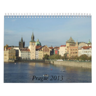 Prague 2013 Travel Calendar