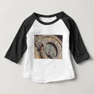 Prague Astronomical Clock Baby T-Shirt
