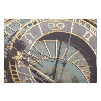 Prague Astronomical Clock Placemat