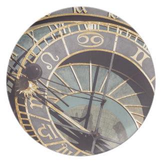 Prague Astronomical Clock Plate
