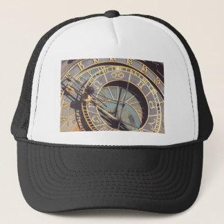 Prague Astronomical Clock Trucker Hat