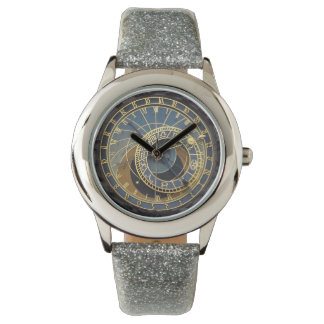 Prague astronomical clock wrist watches