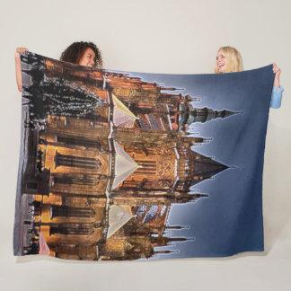 Prague Castle, Czech Republic, Prague Acrylic Art Fleece Blanket