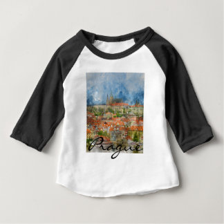 Prague Castle in Czech Republic Baby T-Shirt