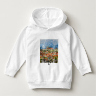 Prague Castle in Czech Republic Hoodie