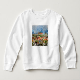 Prague Castle in Czech Republic Sweatshirt