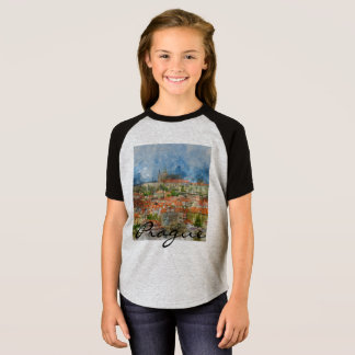 Prague Castle in Czech Republic T-Shirt