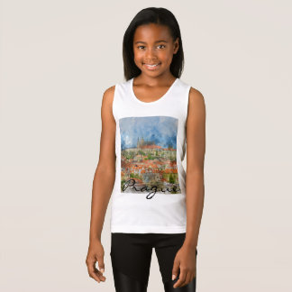 Prague Castle in Czech Republic Tank Top
