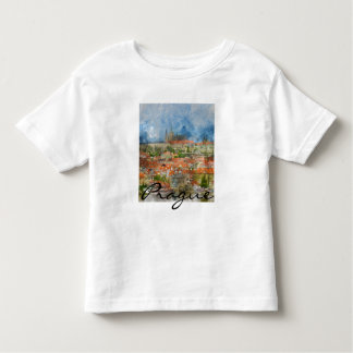 Prague Castle in Czech Republic Toddler T-shirt