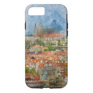 Prague Castle in Prague Czech Republic iPhone 8/7 Case