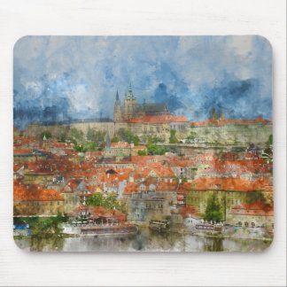 Prague Castle in Prague Czech Republic Mouse Pad