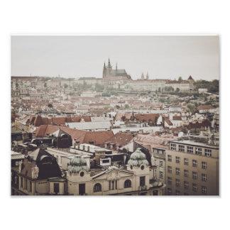 Prague Castle in the Czech Republic Photo Print